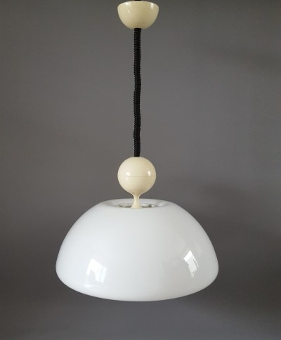 Hanging lamp from the sixties by unknown designer for Martinelli Luce