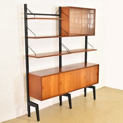 Wall unit by Poul Cadovius for Royal System, 1960s