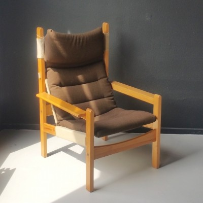 Futurum lounge chair from the sixties by Rolf Rastad & Adolf Relling for Sorlie Möbler