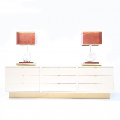 Sideboard from the seventies by Jean Claude Mahey for unknown producer