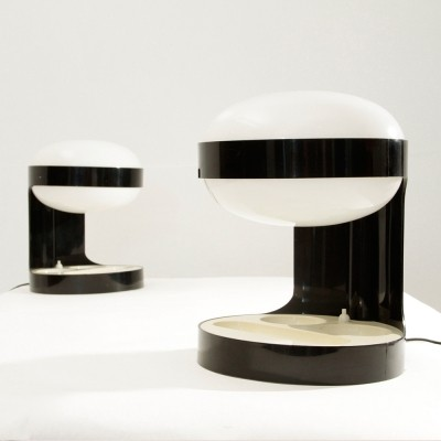 Set of 2 KD29 desk lamps from the sixties by Joe Colombo for Kartell