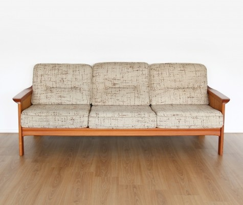 Teak three seater sofa from the 1960's