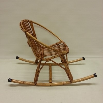 Rocking Chair children furniture from the sixties by unknown designer for unknown producer