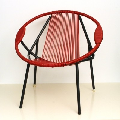 Spaghetti lounge chair from the fifties by unknown designer for unknown producer