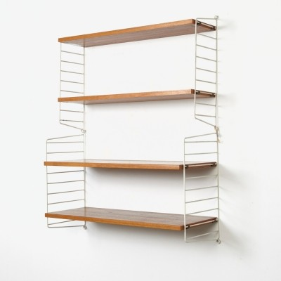 Wall unit by Nils Strinning for String Design AB, 1950s