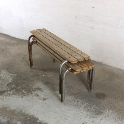 3 benches from the forties by unknown designer for unknown producer
