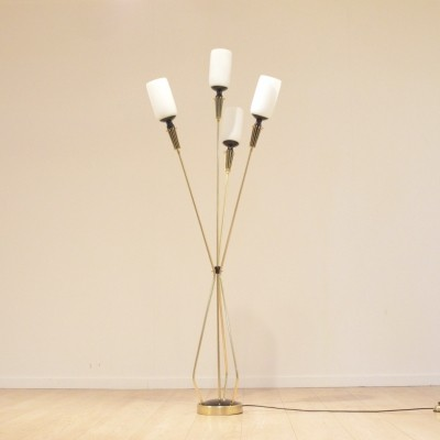 Floor lamp from the fifties by unknown designer for Arlus