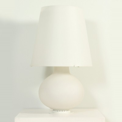 Large 1853 Fontana Arte Table Lamp by Max Ingrand, 1950s