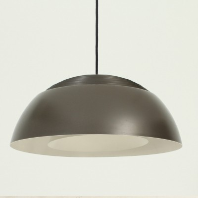 Dark Brown AJ Royal Lamp by Arne Jacobsen for Louis Poulsen