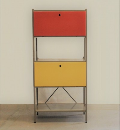 Model 663 Modular Storage Unit by Wim Rietveld for Gispen, 1950s