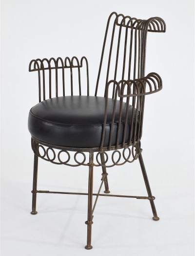 Cap d'Ail Armchair by Mathieu Mategot, France, 1950's