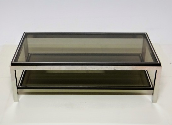 Flaminia coffee table from the seventies by Willy Rizzo for unknown producer