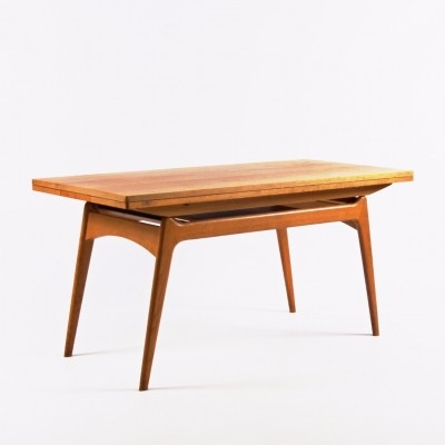 Folding coffee / dining table by ÚLUV Praha, 1960s