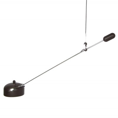 Counterweight hanging lamp by J. Hoogervorst for Anvia Almelo, 1960s