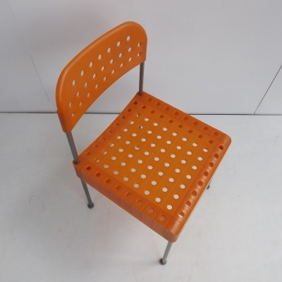 The Box dinner chair from the seventies by Enzo Mari for Aleph