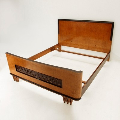Bed from the forties by unknown designer for unknown producer