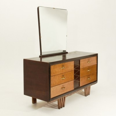 Chest of drawers from the forties by unknown designer for unknown producer