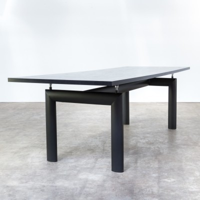 LC6N dining table from the eighties by Le Corbusier for Cassina