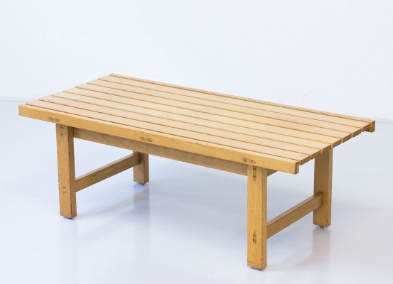 Bench from the sixties by Hugo Svensson for Bjärnums Möbelfabriker