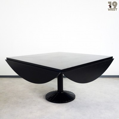 Quadritonda dining table from the nineties by Roberto Barbieri for Zanotta