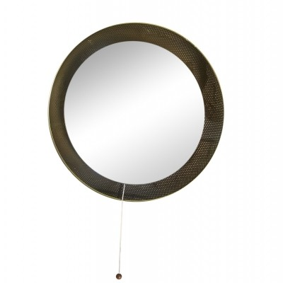 Mirror from the fifties by Mathieu Mategot for Artimeta