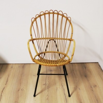 Arm chair from the fifties by unknown designer for Rohé Noordwolde