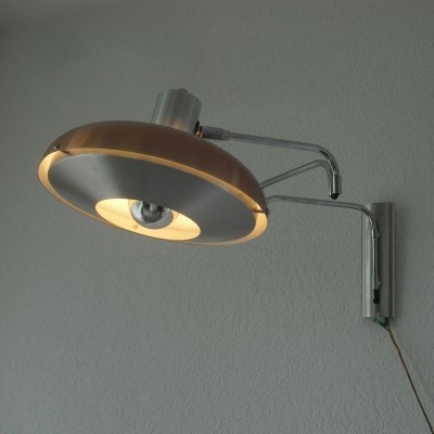 Wall lamp from the sixties by unknown designer for Lakro