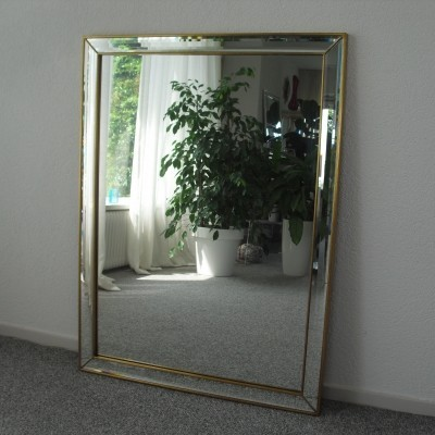 Mirror from the eighties by unknown designer for De Knudt