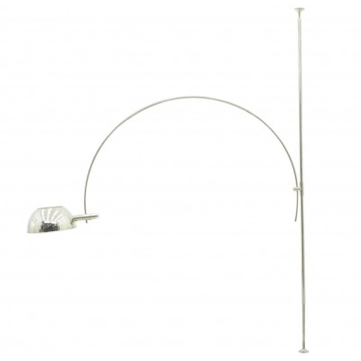 Adjustable Arc floor lamp from the sixties by Florian Schulz for unknown producer