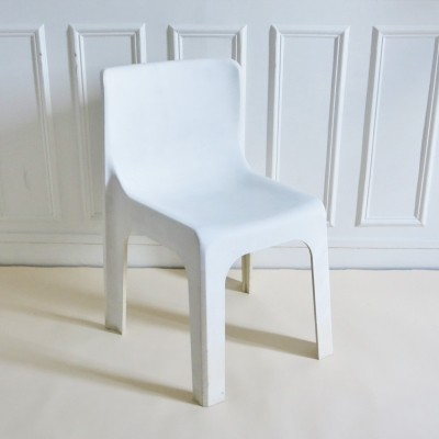 Ligne France dinner chair by Étienne Fermigier for Mobilier de France, 1970s