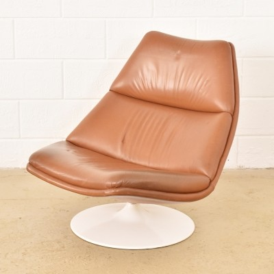 Chaise longue lounge chair from the seventies by geoffrey for Artifort chaise lounge