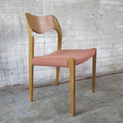 2 dinner chairs from the sixties by Niels Otto Møller for unknown producer