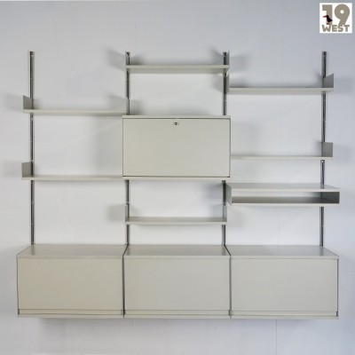 System 606 wall unit by Dieter Rams for Vitsoe, 1960s