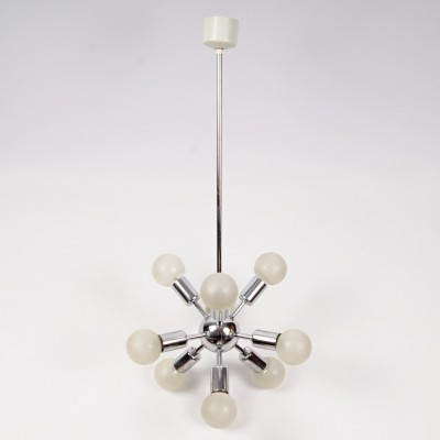 Sputnik hanging lamp from the sixties by unknown designer for Drupol