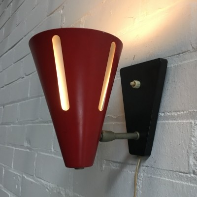 Zonneserie wall lamp from the fifties by H. Busquet for Hala Zeist