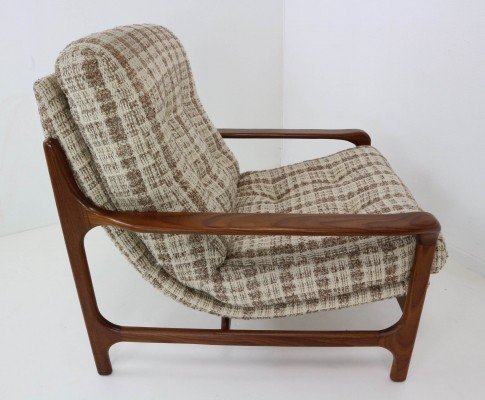 Danish Design Armchair Made of Rosewood, 1960s