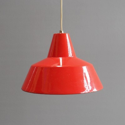 5 x Arbejdspendel hanging lamp by Arne Jacobsen for Louis Poulsen, 1950s