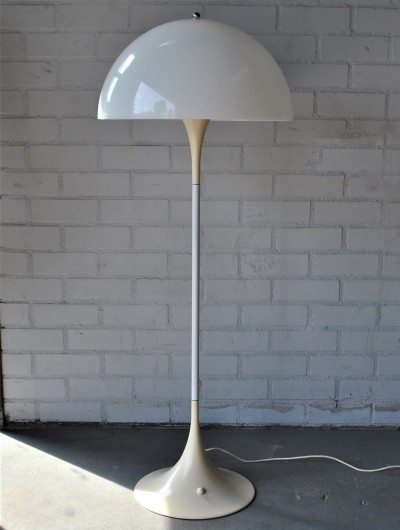 Panthella floor lamp from the sixties by Verner Panton for Louis Poulsen