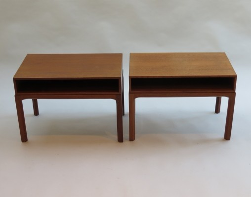 2 model 383 side tables from the sixties by Aksel Kjersgaard for Aksel Kjersgaard