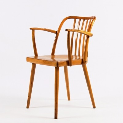 Dinner chair from the sixties by Antonin Šuman for Ton