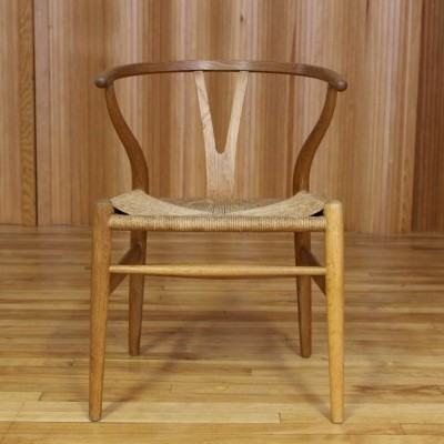 CH24 arm chair from the fifties by Hans Wegner for Carl Hansen & Son