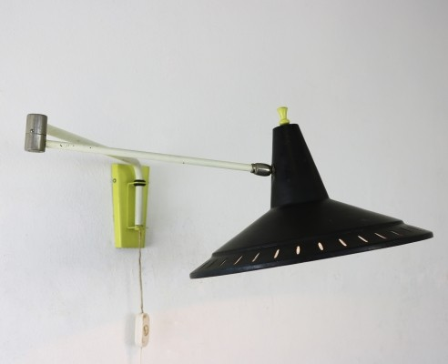 Hoogervorst wall lamp for Anvia, 1950s