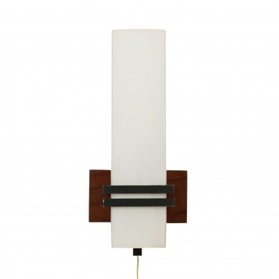 Modern cubistic wall light, 1960s