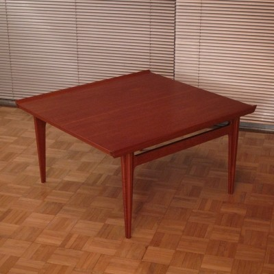 Finn Juhl Model 535 Teak Coffee Table, 1950s