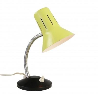 Yellow desk or wall light by Hala Zeist, 1960s