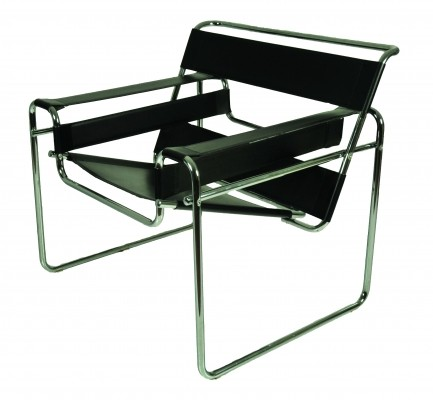 B3 Wassily lounge chair by Marcel Breuer, 1920s
