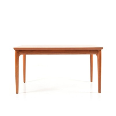 Rare Teak Dining Table by Henning Kjaernulf, 1960s