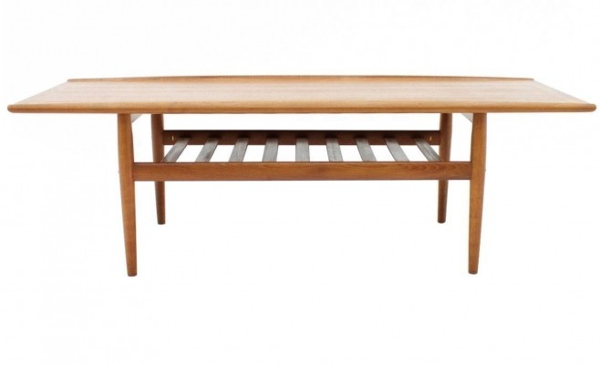 Coffee table from the fifties by Grete Jalk for Jeppesen Denmark