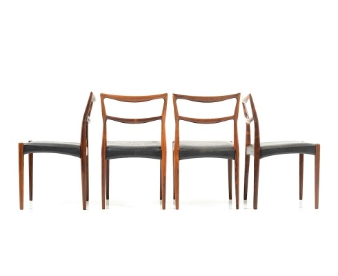 Set of four danish rosewood Dinner Chairs, 1960s