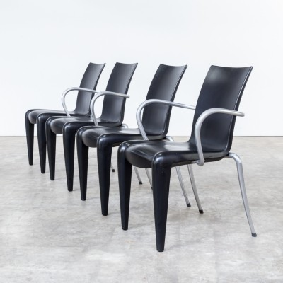 Set of 4 Louis 20 dinner chairs from the nineties by Philippe Starck for Vitra